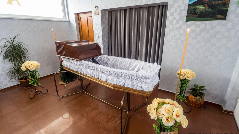 Mobile mortuary refrigerator for coffin OSIRIS AO2